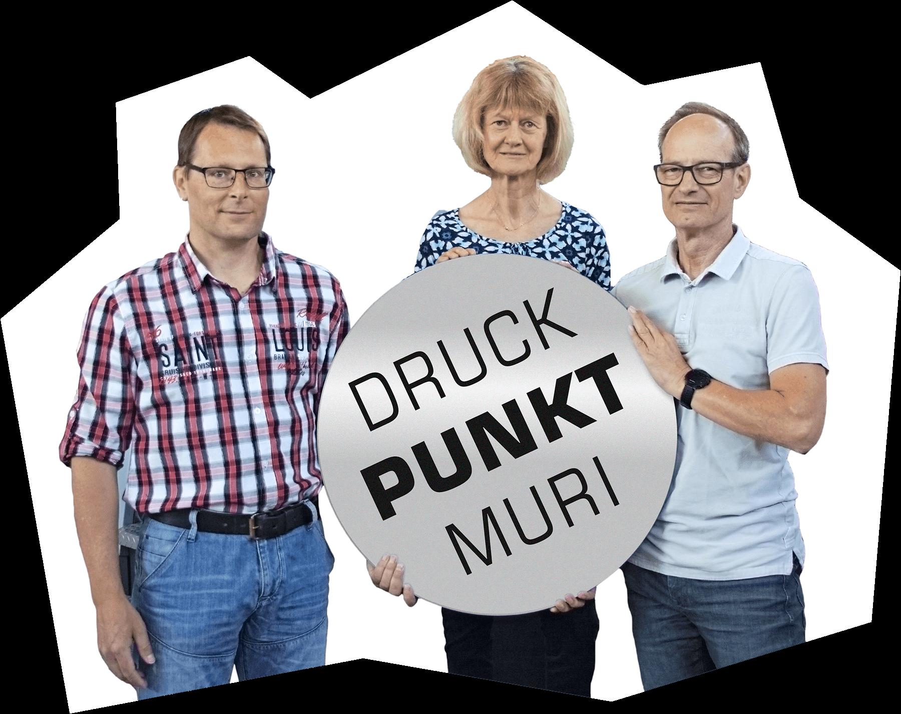 Inhaber: Michael Schumacher, Therese Kron, Marius Kron - Druckpunkt Muri AG